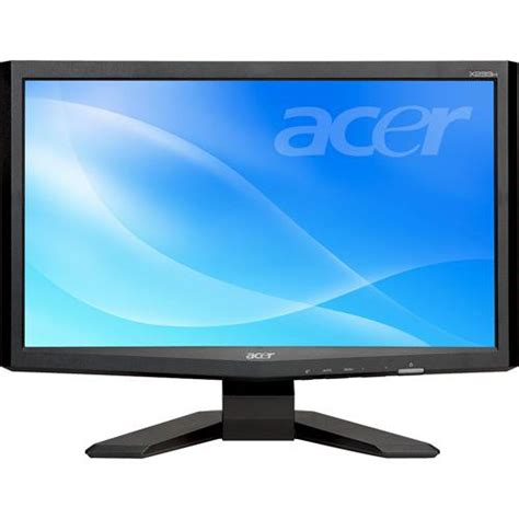acer x233h widescreen lcd monitor display specs acer x233h bd 23 quot widescreen lcd computer et vx3hp 003 b h