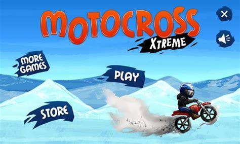 xtreme motocross android icin fizik tabanli motor oyunu