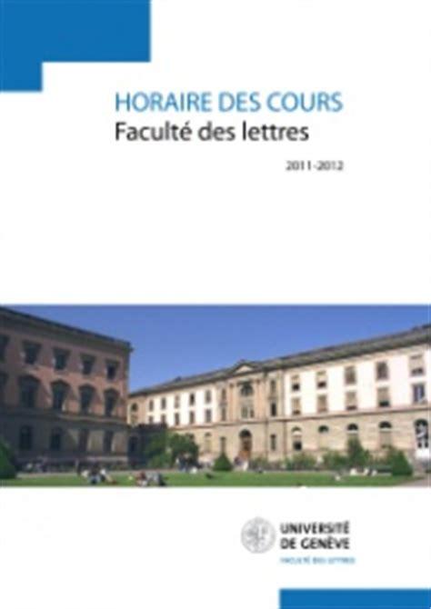 Calendrier 2018 Unige Programme Des Cours D 233 Partement D Histoire De L Et