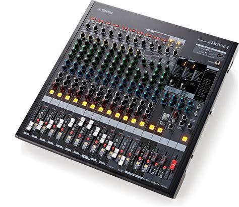 Mixer Yamaha Mgp16x yamaha mgp16x thomann belgium