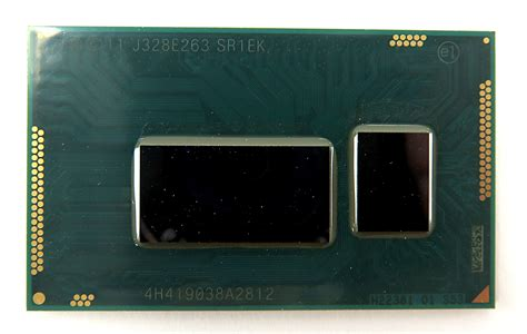 intel i3 mobile intel i3 4005u sr1ek dual 4 thread 1 7ghz 3mb bga1168