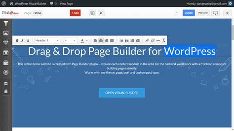 wordpress theme editor drag and drop templatemonster review a wordpress theme for every project