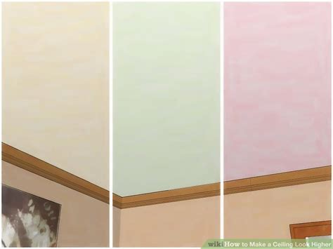 how to make ceiling look higher how to make a ceiling look higher 9 steps with pictures