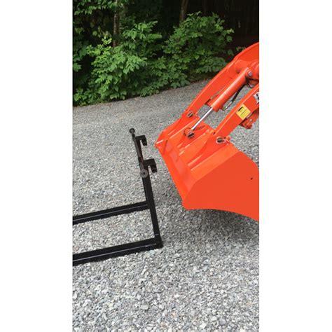 kubota bx forks fork tractor