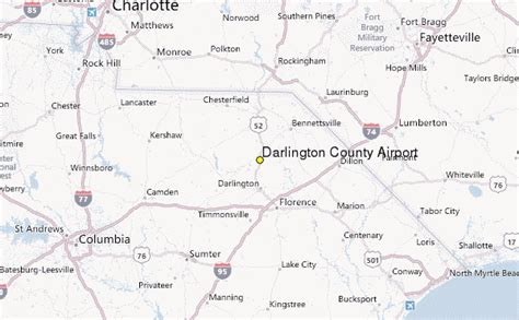 Darlington County Records Darlington County Airport Weather Station Record