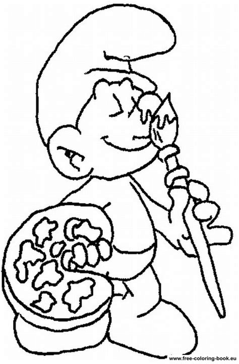 smurf coloring pages online coloring pages the smurfs page 1 printable coloring