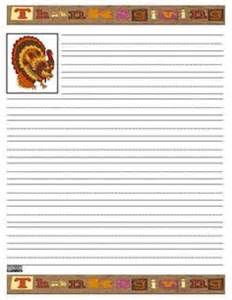 Thanksgiving Lined Writing Paper Writing Stationary On Pinterest Writing Papers Writing