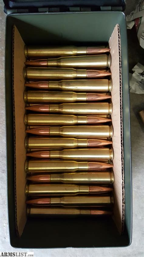 50 Bmg Pistol For Sale by Armslist For Sale Trade 190 Rds Of 50bmg Ammo