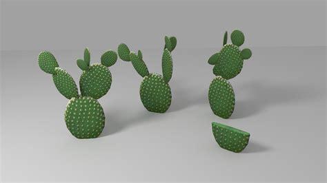 Iphone 55sse66s66s 77 3d Cactus cactus low 3d model ready obj 3ds fbx blend dae