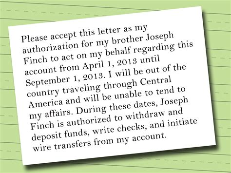 authorization letter to bank for banking transaction 28 authorization letter to bank for banking transaction