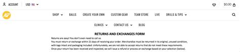 How To Write An Ecommerce Return Policy Template And Exles Return Exchange Form Template