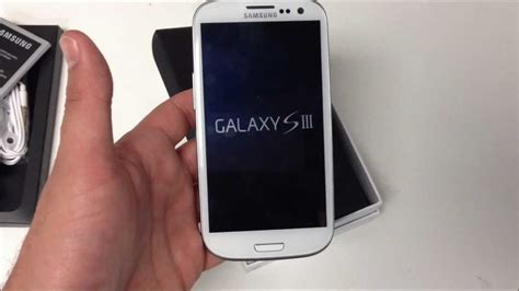 Samsung S3 White unboxing samsung galaxy s3 white