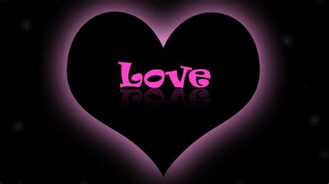 wallpaper black love pink love wallpaper black background 4134 wallpaper