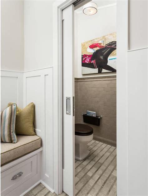 Brilliant Pocket Door To The Water Closet Brilliant Water Closet Door