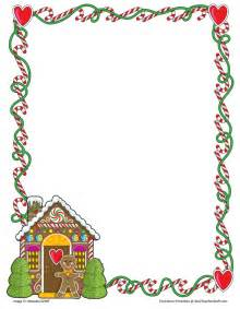 Gingerbread border paper blank gingerbread border paper with