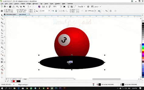 cara membuat gambar jadi 3d di coreldraw tutorial coreldraw untuk pemula cara membuat bola