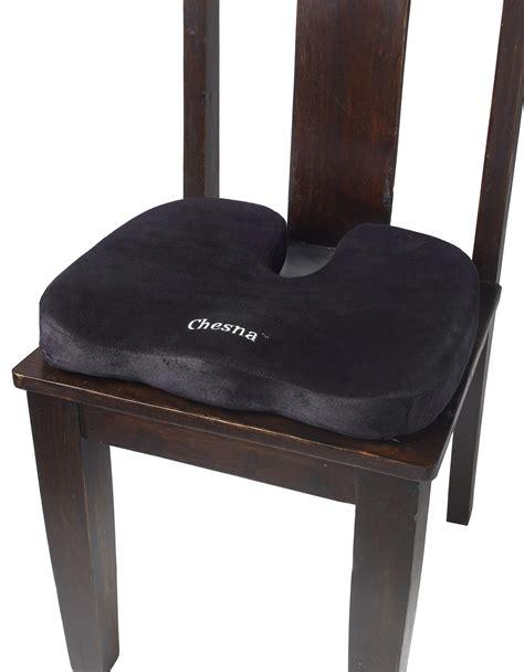 seat pillow comfort foam seat pillow black chesna