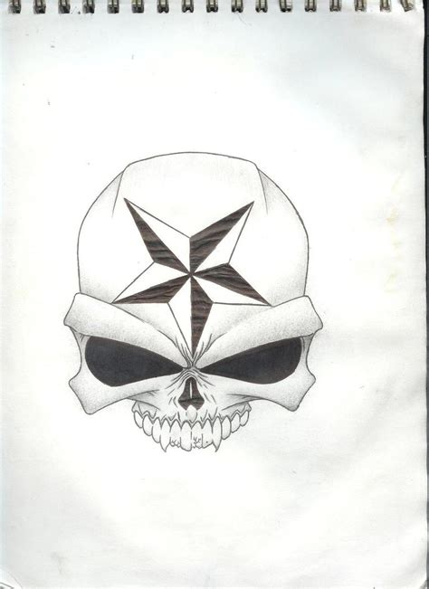 skull and star tattoo designs heja buy skull design deviantart