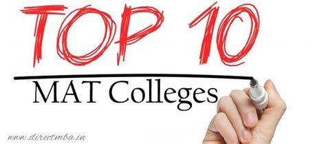 Top Colleges Mat by Top 10 Mat Colleges Direct Admission By Management Quota