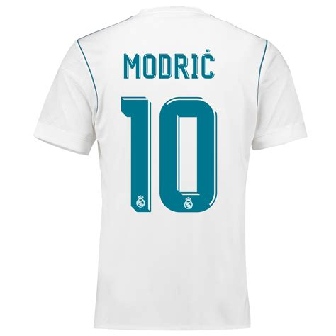 Jersey Real Madrid 12 13 Home modrić 10 real madrid home jersey 2017 18 adidas