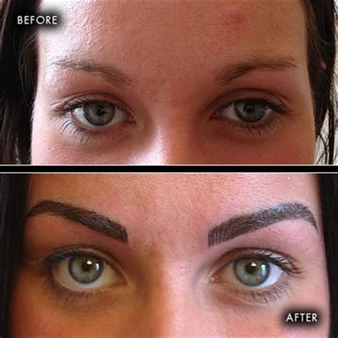 tattoo eyebrows northern ireland before and after photographs semi permanent make up