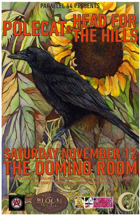domino bedrooms polecat head for the hills the domino room tickets the domino room bend or