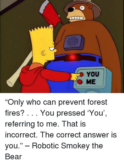 Only You Can Prevent Forest Fires Meme - 25 best memes about smokey the bear smokey the bear memes
