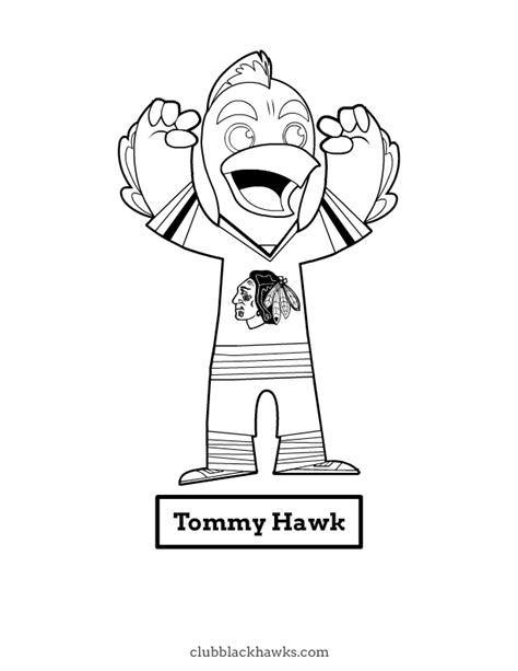 spongebob hockey coloring pages blackhawks coloring pages 559637
