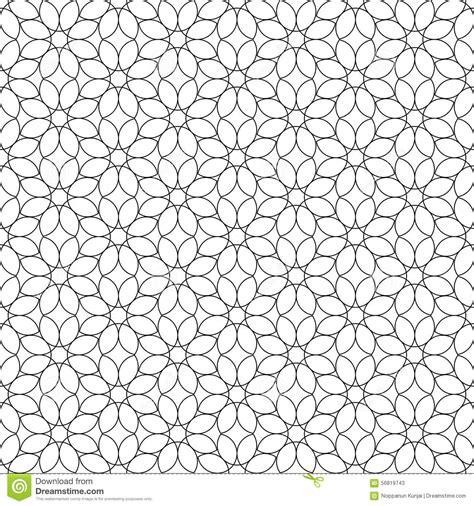 geometric pattern l black and white geometric seamless pattern flower stylish
