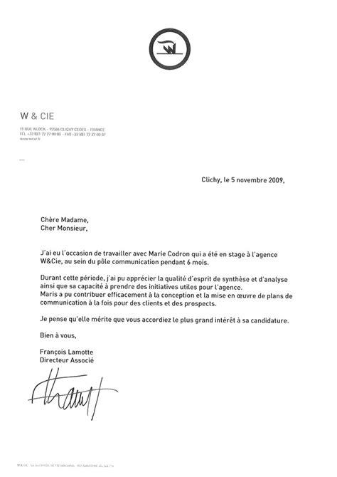 Modèle Lettre De Recommandation Thèse Exemple De Lettre De Remerciement Pour Une Recommandation Covering Letter Exle