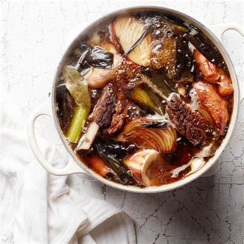 Epicurious Detox Pho by Beef Bone Broth Recipe Food Reviews Vegetables And Sauces