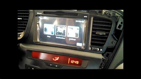 2012 Kia Optima Navigation System How To Install Unavi Factory Navigation System In Kia