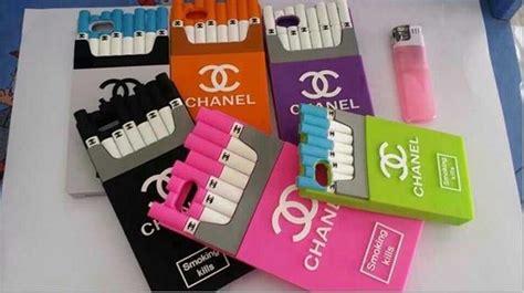Casing Iphone 5c Promo M E kills chanel cigarette for iphone 6 plus