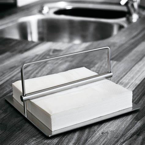 serviettenhalter edelstahl stelton serviettenhalter 19 x 19 cm edelstahl classic