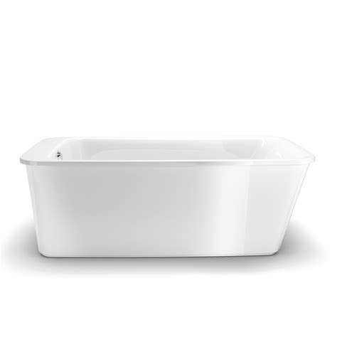 lowes bathtubs maax 105798 000 001 10 lounge freestanding soaking bathtub
