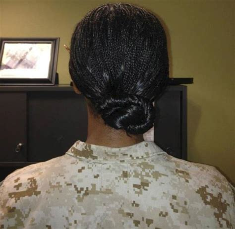 women hairstyles accepted in usmc marine corps weighs new hair regulations for women
