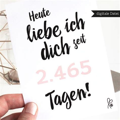 Jahrestag Geschenk by Karte Lastminute Printable Pdf Jahrestag