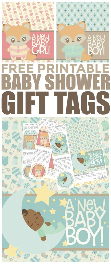 Printable Baby Shower Gift Tags by Free Printable Baby Shower Gift Tags Frugal Eh