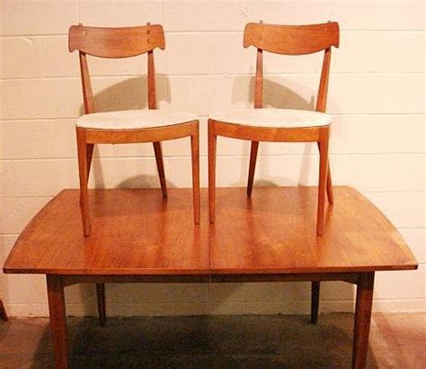 drexel dining room set 1950 s drexel declaration walnut dining room set