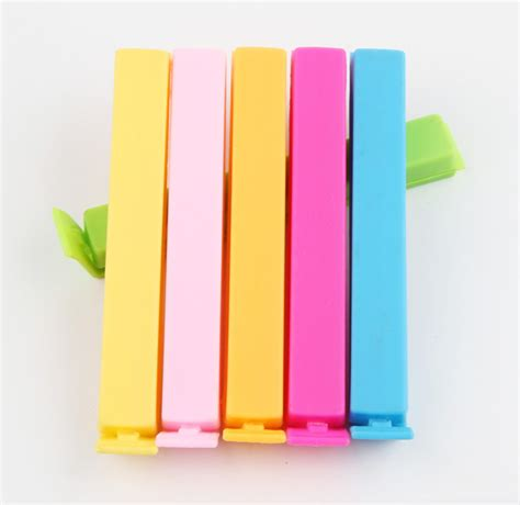 Plastik Wrap Semarang clip sealer plastik wrap 5pcs multi color