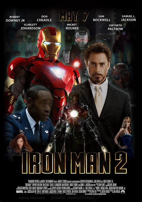 film marvel iron man another iron man 2 film poster by marvel freshman on