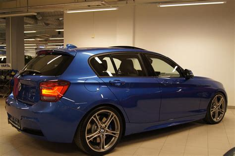 Bmw 1 Series Estoril Blue M Sport by Estoril Blue F20 M Sport With M Performance Parts
