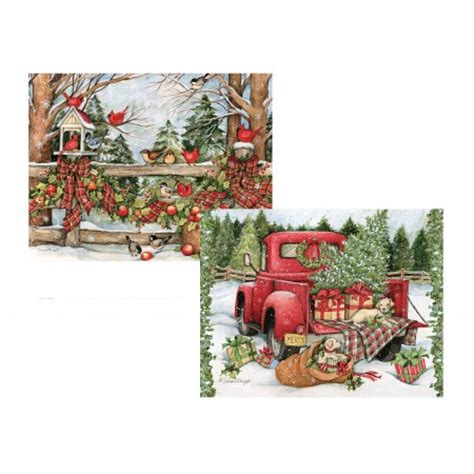 farmers weekly xmas theme farm themed cards decore