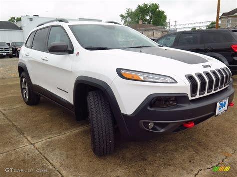 jeep cherokee trailhawk white 2017 bright white jeep cherokee trailhawk 4x4 122078418
