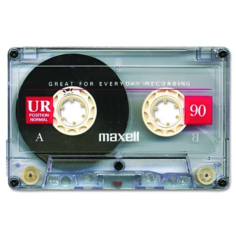 maxell audio cassette maxell normal bias audio cassette 90 minute pl1 2582