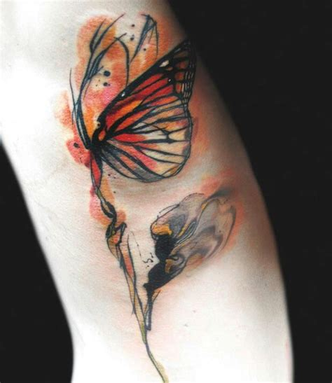 abstract butterfly tattoo all tatted up pinterest