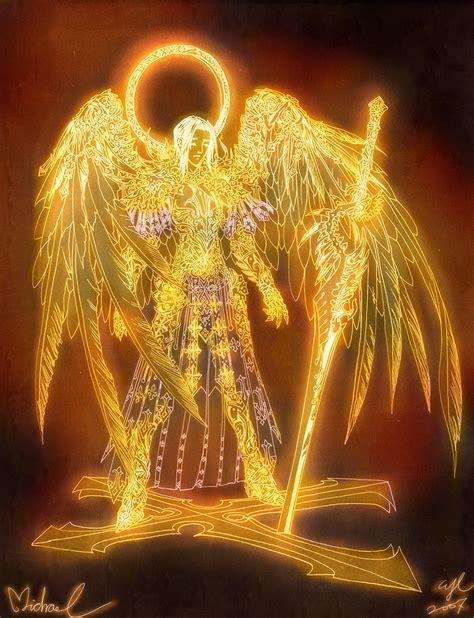 archangel michael angels michael by wen m on deviantart