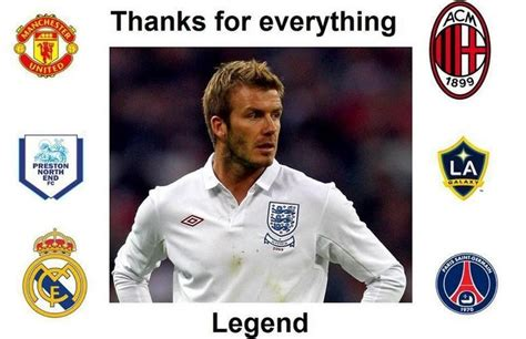 david beckham football player biography david beckham tribute and funny memes about retired