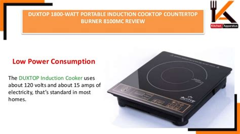duxtop  watt portable induction cooktop countertop