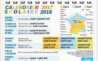 Vacances Scolaires 2016 2018 Vacances Scolaires 2017 2018 Le Calendrier 224 Imprimer